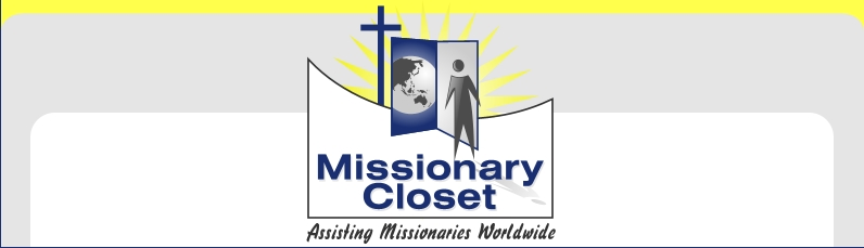 Missionary Closet - Assisting Missionaries Worldwide